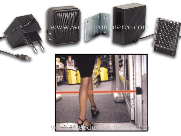 DETECTUER MOVEMENT PORTE-SYSTEME MINI IR DE PROTECTION, 7m