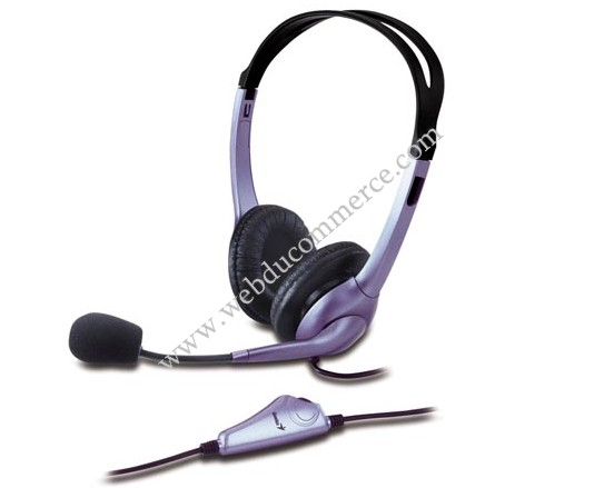 ENSEMBLE CASQUE ET MICRO 'AUDIO HS-04S' (GENIUS)