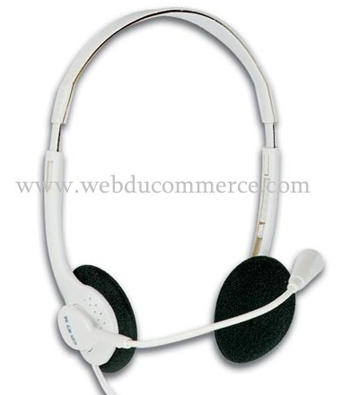 CASQUE MULTIMEDIA STEREO + MICROPHONE