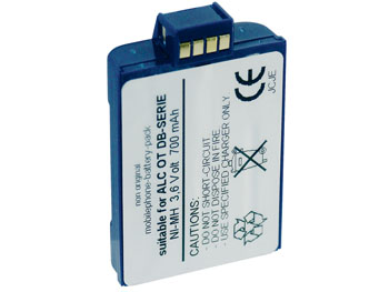 Batterie pour TELEPHONE PORTABLE ALCATEL SERIE OTE DB 3.6V/700mAh/NiMH