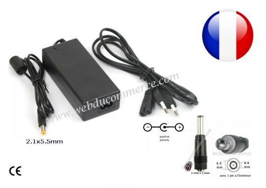 Alimentation ordinateur portable 19.5V  6.15A  120W