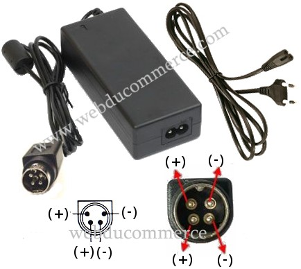 Alimentation 19V 6.32A 4pin 120W
