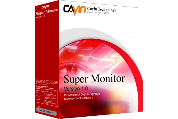 CAYIN SUPER MONITOR PACKAGE