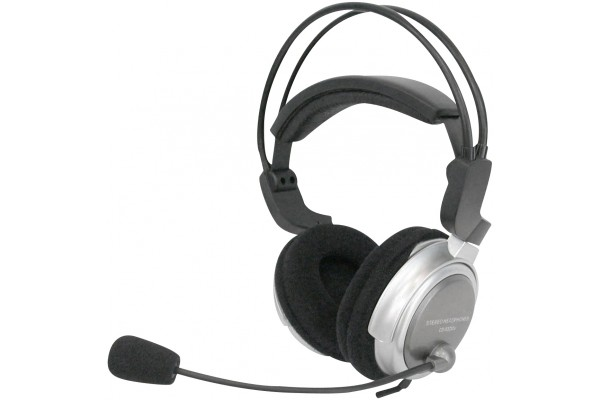 DACOMEX • CASQUE MULTIMEDIA LUXE + MICRO + REGLAGE SON<br>Réf : 059170