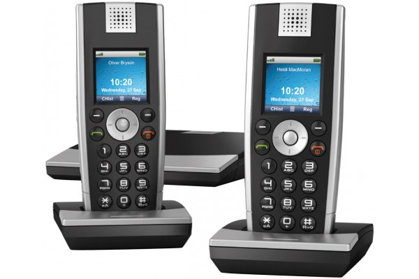 SNOM M9 TELEPHONE VoIP DECT BASE +2 COMBINES