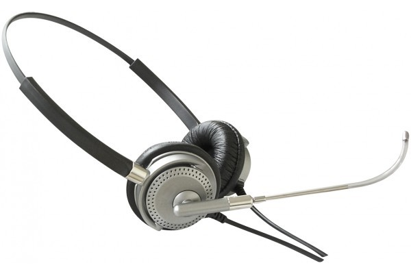 DACOMEX CASQUE TELEPHONIQUE BINAURAL TUBE QUALITE<br>Réf : 290015