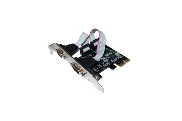 CARTE PCI EXPRESS 2 PORT SERIE DB9