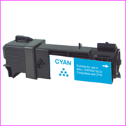 Toner compatible cartridges  DELL-2135 - Cyan - Haut Taux de Couverture