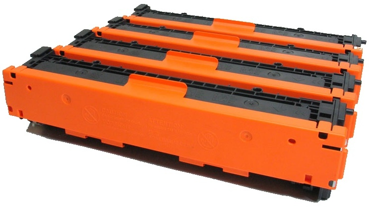 Toner cartridges  HEWLETT PACKARD-CB540A - Noir - puce