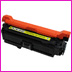 Toner cartridge HEWLETT PACKARD-CE252A - Jaune - puce